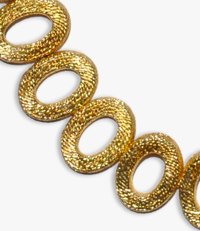 Yellow gold 1960s Argentinian necklace | Statement Jewels